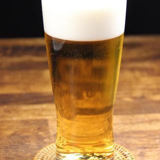 暑い夏に!アサヒスーパードライ生ビール390円(税抜)