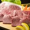 焼肉殿 秀吉 - 料理写真:一皿に贅沢に盛り合わせられた『特選和牛セット』