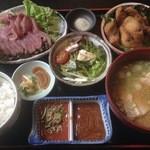 36702091 - 鯉の唐揚げ定食¥1300(平日限定)