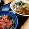 そば処 吉野家 - 料理写真:まぐろ丼とそばセット(¥680税込み)