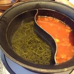 しゃぶしゃぶ温野菜  - 昆布出汁&トマト出汁
