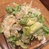 韓国館焼肉店 - 料理写真:韓国館サラダ 500円