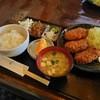 鶏料理の店 壽屋 - 料理写真:メンチカツ定食¥700