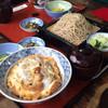元六そば - 料理写真:カツ丼ともりそばはセットではありません