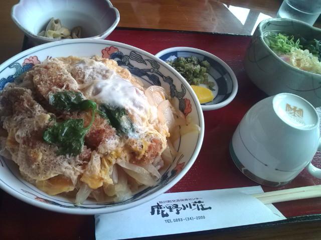 鹿野川荘レストラン
