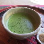 岡山後楽園 福田茶屋 - 抹茶