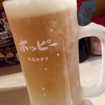 浅草弥太郎 - ホッピー白 氷無し@390円  最高の美味さ♪