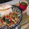 グッデイ タイフード - 料理写真:お肉がゴロゴロ!ガパオライス