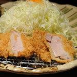 銀座平田牧場 - 三元豚ヒレかつ膳