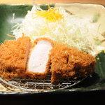 銀座平田牧場 - 金華豚特厚ロースかつ膳