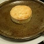 アマレット - カマンベールチーズ、フォンデュです。