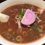 極上とんこつ・つけ麺 ガチトンラーメン - ブラック豚骨ラーメン
