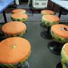ラーメン餃子三平 - 料理写真:ミッキーチェアーに三平チェアー