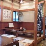 長寿庵 - 左側の座敷