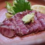 ステーキハウス キッチンリボン - 牛のたたき