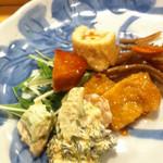 魚がし寿司 - 先付け