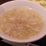 華正樓 - スープ