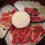 36856467 - お好み定食A(カルビ・ロース・ハラミ)