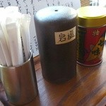 蕎麦花 - 岩塩