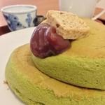 36868632 - 抹茶のホットケーキ