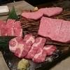 焼肉 かける - 料理写真:塩系。タンツラ、上ハラミ、シンロース、ハネシタ。塩、レモン、わさびで。
