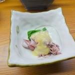 36883380 - ホタルイカ酢味噌