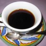 ムッシュ藤田 - 2015年のオムライスセット(コーヒー)