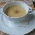 青野 - ランチFコース  コンポタージスープ