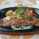 青野 - ランチFコース ステーキ