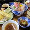 割烹 三代 - 料理写真:天ぷら刺身膳