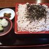 末廣庵 - 料理写真:ざる蕎麦