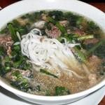 サイゴン - 牛肉フォー:取分け後