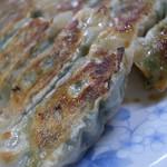 ぎょうざ太郎 - 2番人気のシソ餃子