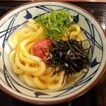丸亀製麺 - 明太釜玉うどん!