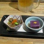 とり勝 - 前菜と小鉢