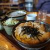 一茶庵 - 料理写真:かつ丼セット