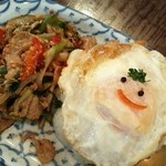 サワディー - ランチ タイ風豚肉飯¥800