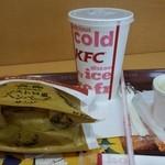 ケンタッキーフライドチキン - 料理写真:ハンバーグサンドセット
