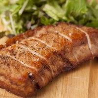みやざき赤豚DDXのステーキ