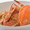 ミア ボッカ - 料理写真:名物!渡り蟹のトマトソース