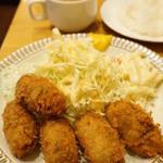 洋食 GOTOO - カキフライ(1500円)