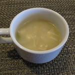 喫茶 気まま - ランチのスープ