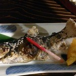 土蔵食亭 - イワナ塩焼き