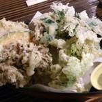 土蔵食亭 - 天ぷら(エビなし)