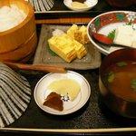 おひつ膳 田んぼ - 今日の晩ご飯