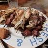 味よし 焼鳥 - 料理写真:ナンコツ、ハツ、手羽、ナンコツ