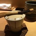 すし天 - 茶碗蒸し
