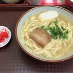 ニライカナイ食堂 - 沖縄そば小  ¥350