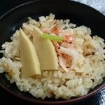 緑彩 - 桜海老の炊き込みご飯