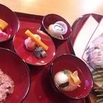緑彩 - お食い初め膳